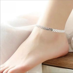 Jewelry - Silver Arrow Anklet